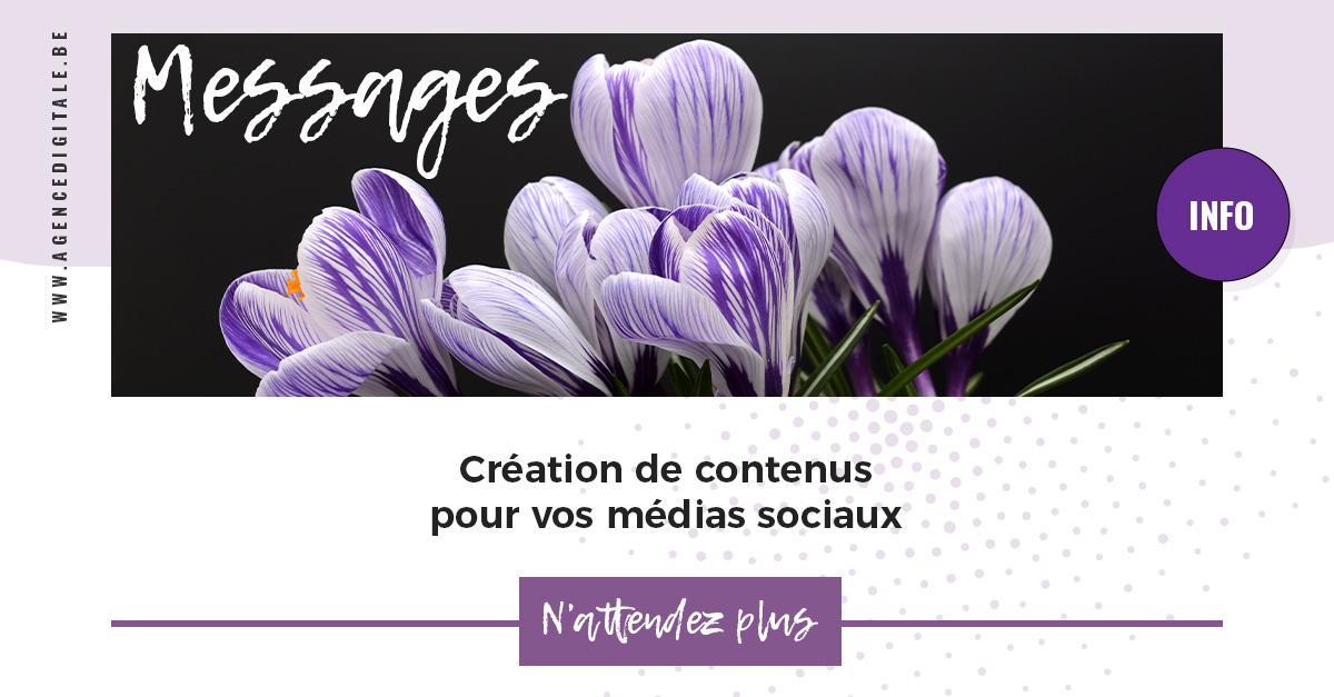 Contenu pour Facebook