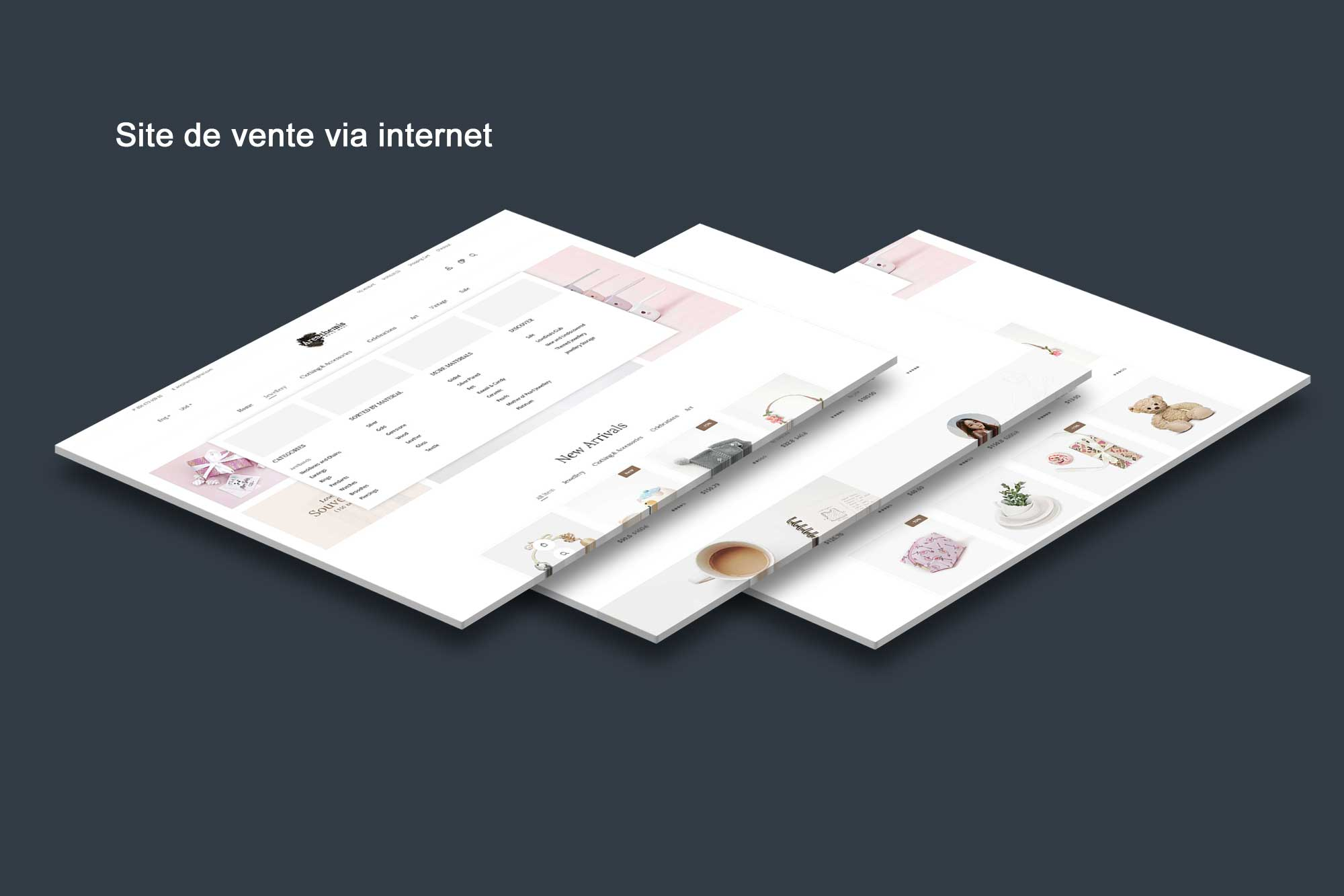 Site internet -vente