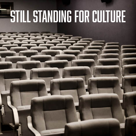 sièges de cinema - contenu instagram